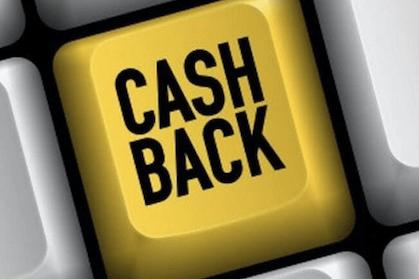 keyboard key stating cash back in big letter