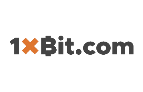 Logo of 1xbit.com website that offers crypto sports betting and crypto casino games