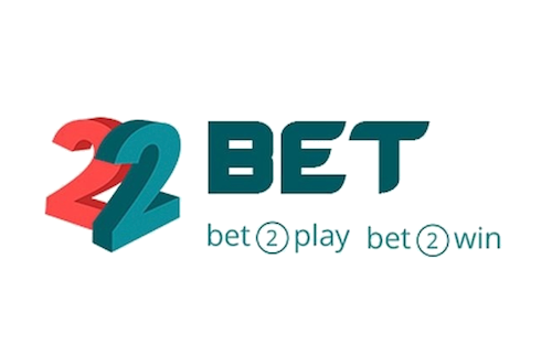 22BET casino logo their slogan is bet 2 play bet 2 win