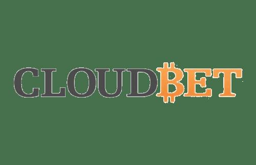 Cloudbet logo crypto sports betting and casino gambling in bitcoin