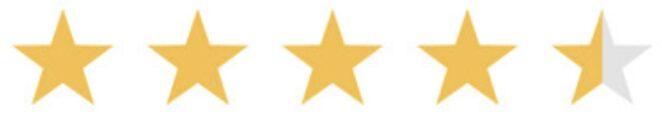 4.5 stars ranking